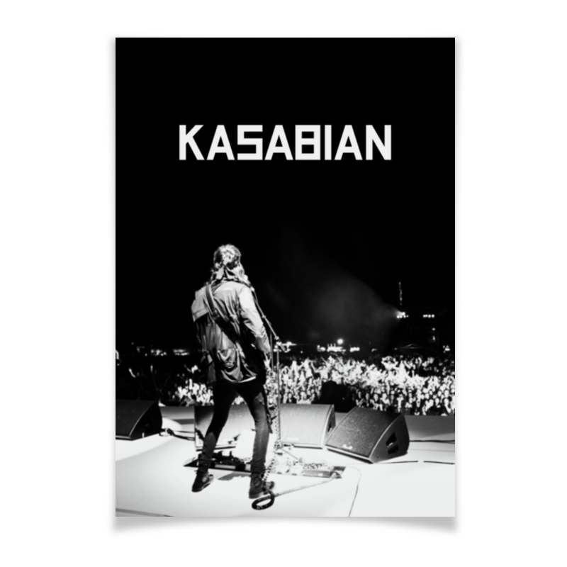 Плакат A2(42x59) Printio Kasabian плакат a2 42x59 printio драко малфой