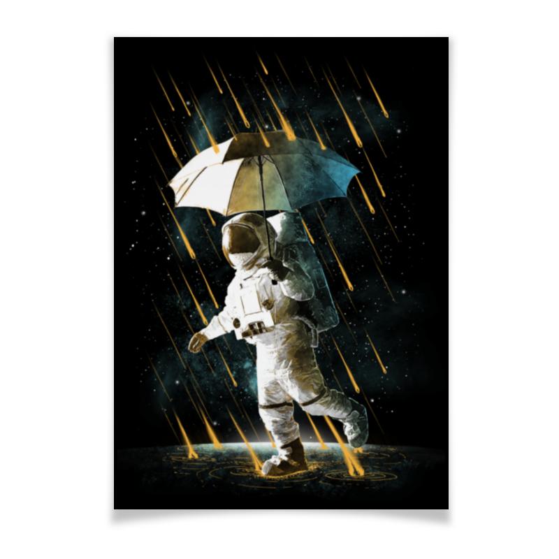 Плакат A2(42x59) Printio Метеоритный дождь плакат a2 42x59 printio противостояние