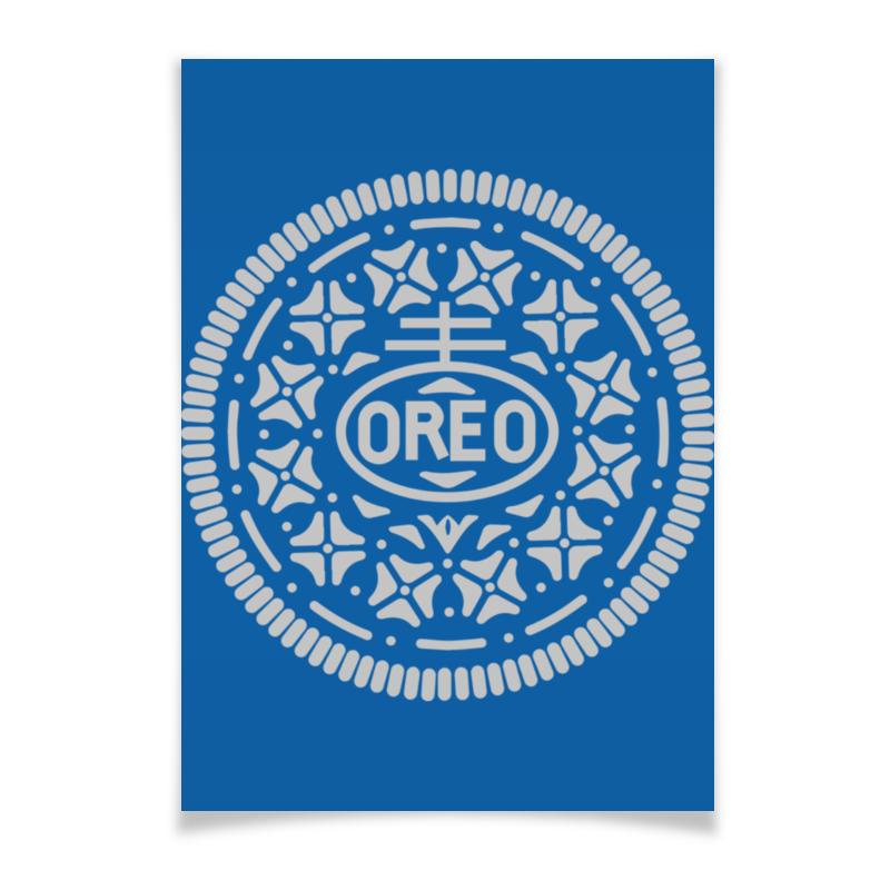 где купить Плакат A2(42x59) Printio Печенье орео / oreo cookies по лучшей цене