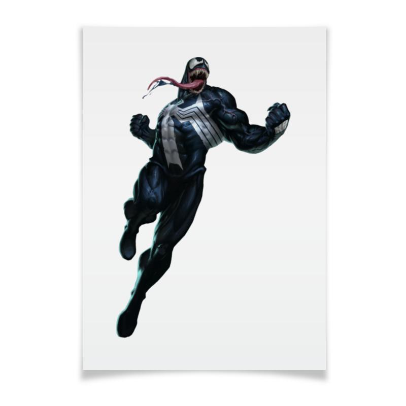 Плакат A2(42x59) Printio Venom / веном the venom of luxur