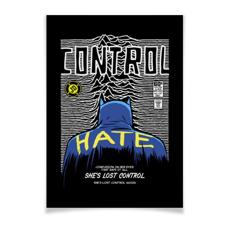 Плакат A2(42x59) Printio Иэн кёртис бэтмен плакат a2 42x59 printio бэтмен