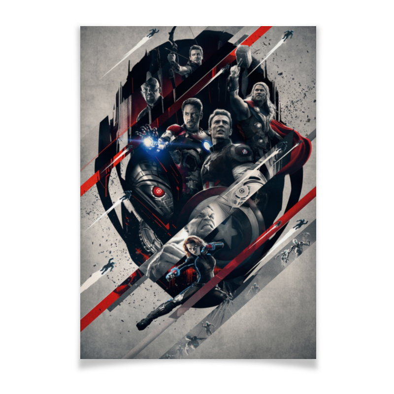 Плакат A2(42x59) Printio Мстители плакат a2 42x59 printio африка