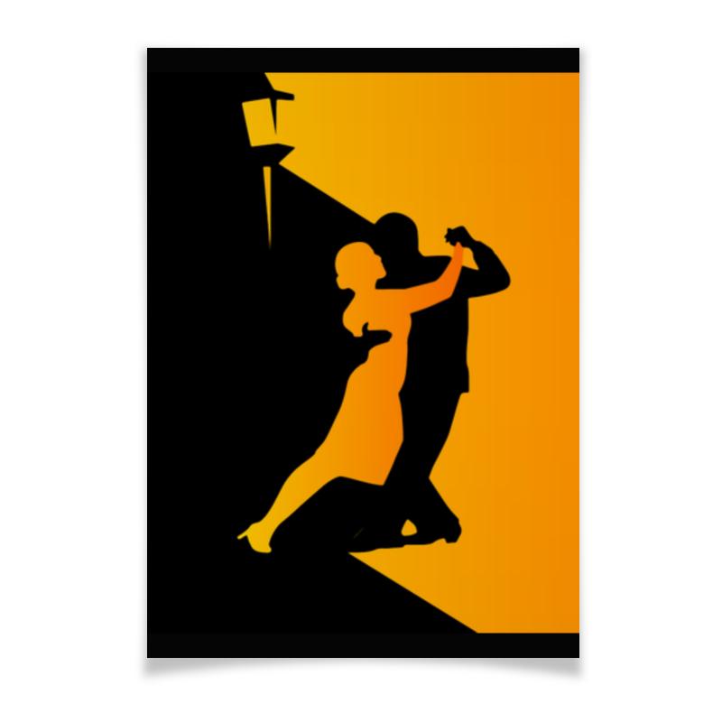 Плакат A2(42x59) Printio Танго в ночи мячи адидас танго в киеве