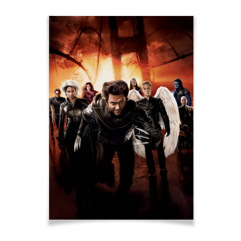 Плакат A2(42x59) Printio Люди икс плакат a2 42x59 printio драко малфой