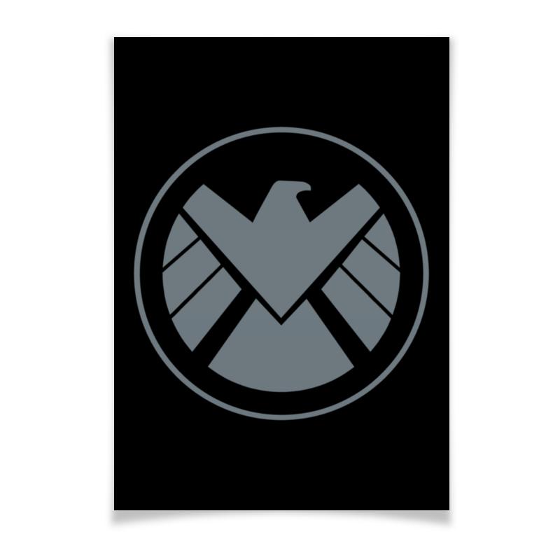 Плакат A2(42x59) Printio Avengers shield / мстители щит плакат a2 42x59 printio avengers shield мстители щит