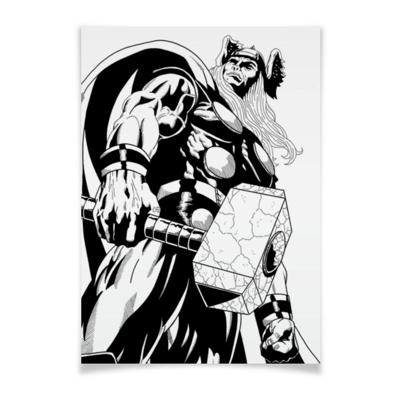 Printio Тор плакат a2 42x59 printio тор мстители