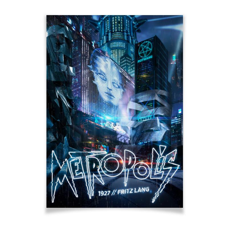 Фото - Плакат A2(42x59) Printio Метрополис / metropolis original 75w atomvapes v box tc kit with 2ml metropolis mini tank