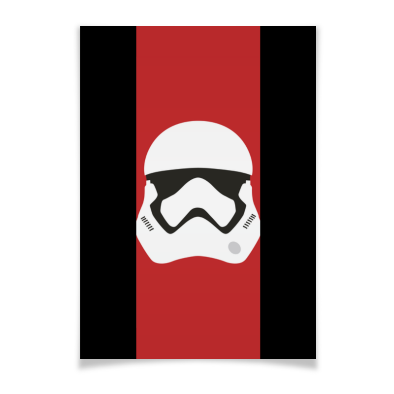 Плакат A2(42x59) Printio Star wars stormrooper/звездные войны штурмовик плакат a2 42x59 printio противостояние