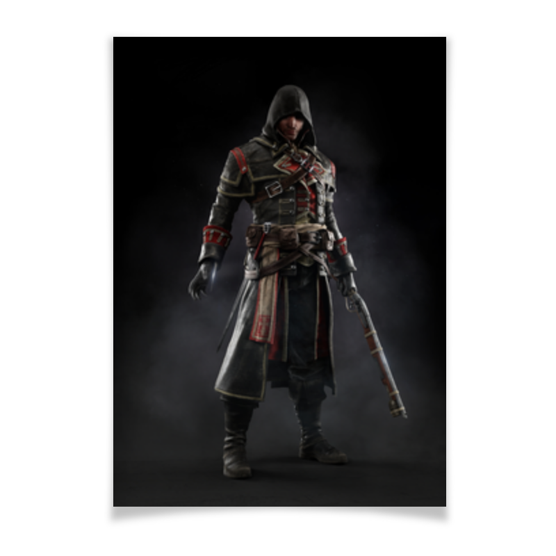 Плакат A2(42x59) Printio Assassins creed (rogue)