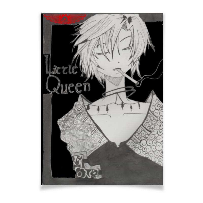 Плакат A2(42x59) Printio Little queen плакат a2 42x59 printio драко малфой