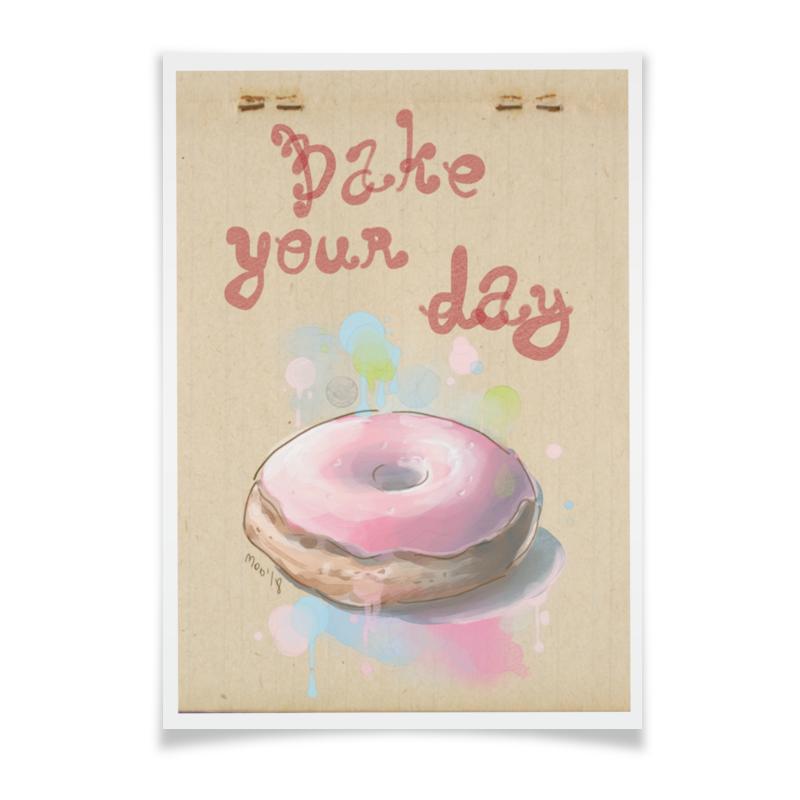 Плакат A2(42x59) Printio Bake your day