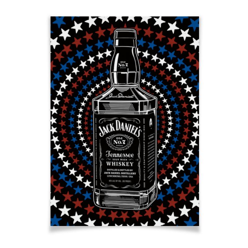 Плакат A2(42x59) Printio Jack daniels