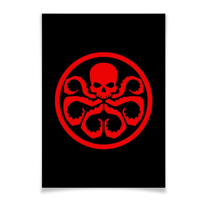 Printio Avengers hydra / мстители гидра плакат a2 42x59 printio тор мстители