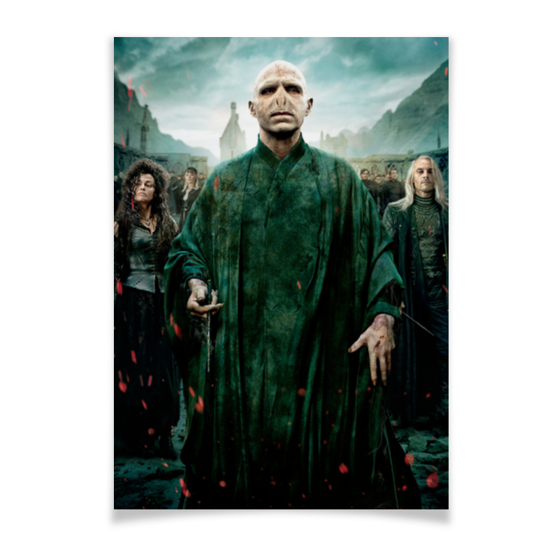 Плакат A2(42x59) Printio Волан-де-морт толстовка wearcraft premium унисекс printio волан де морт