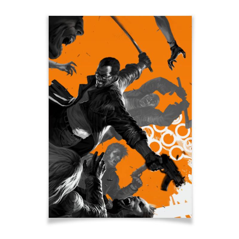 Плакат A2(42x59) Printio Блэйд плакат a2 42x59 printio силузт