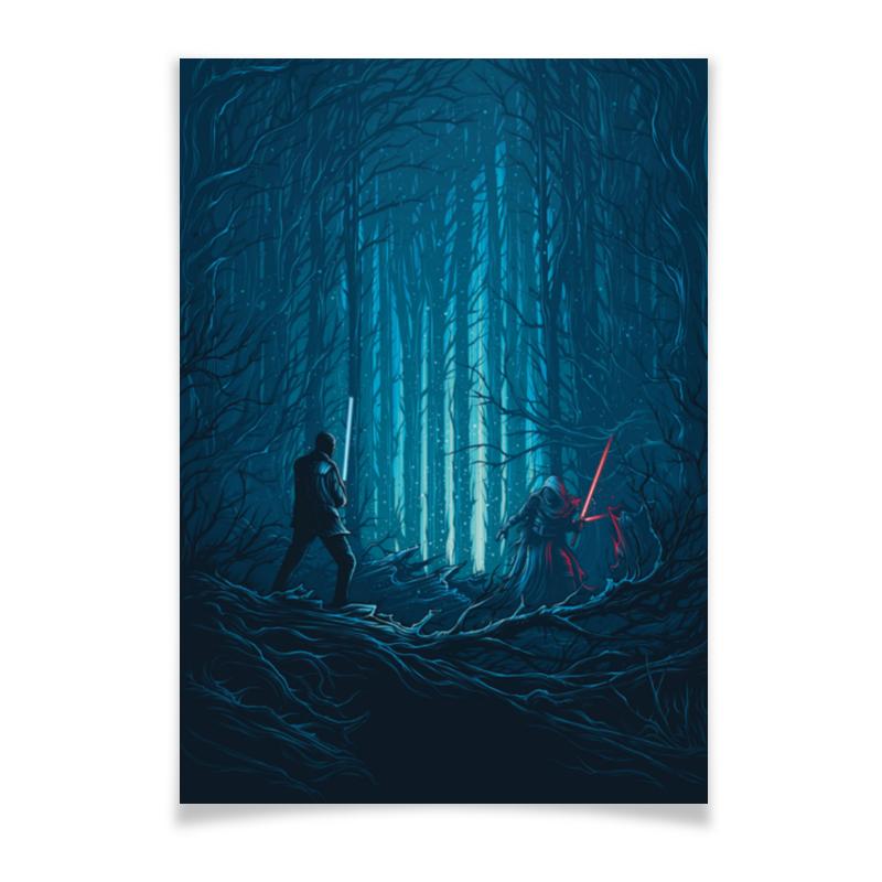 лучшая цена Плакат A2(42x59) Printio Звездные войны