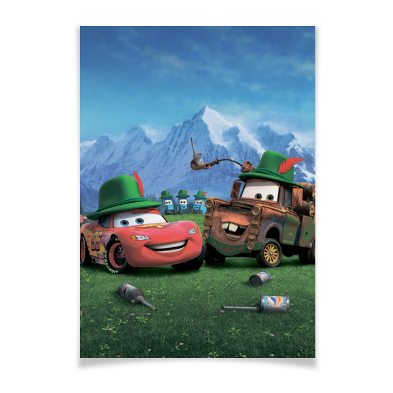 Плакат A2(42x59) Printio Тачки плакат a2 42x59 printio барселона