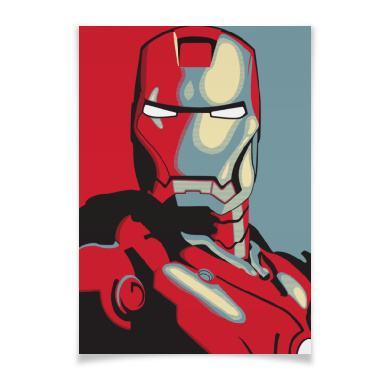 Плакат A2(42x59) Printio Iron man плакат a2 42x59 printio противостояние