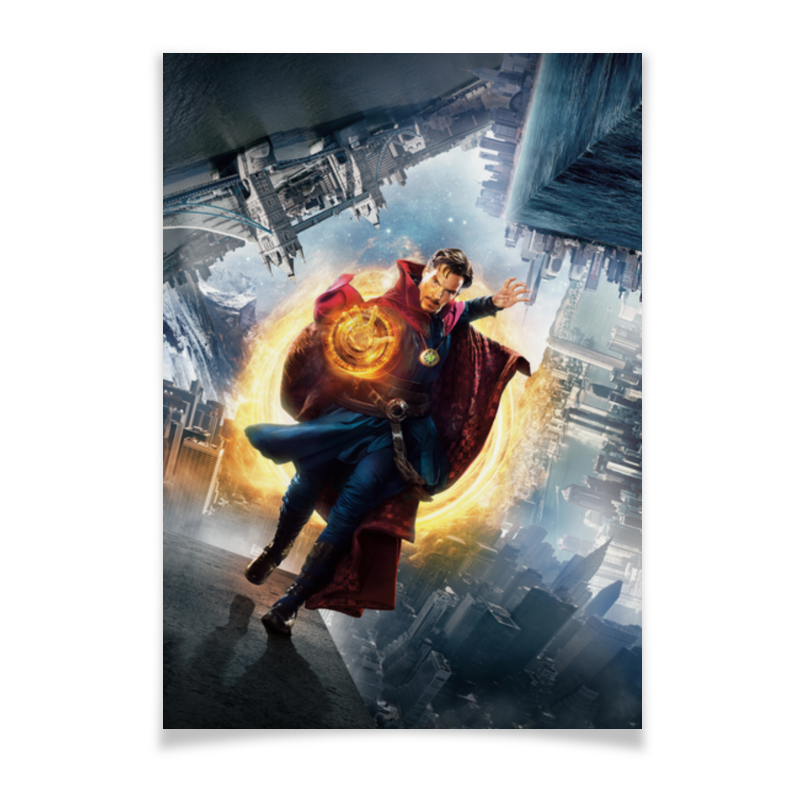 Плакат A2(42x59) Printio Доктор стрэндж