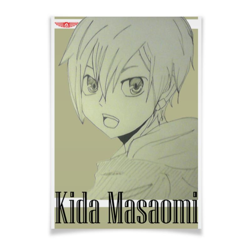 Плакат A2(42x59) Printio Kida masaomi плакат a2 42x59 printio драко малфой