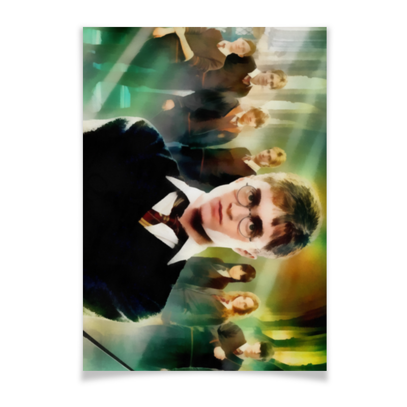 Плакат A2(42x59) Printio Гарри поттер плакат a2 42x59 printio противостояние