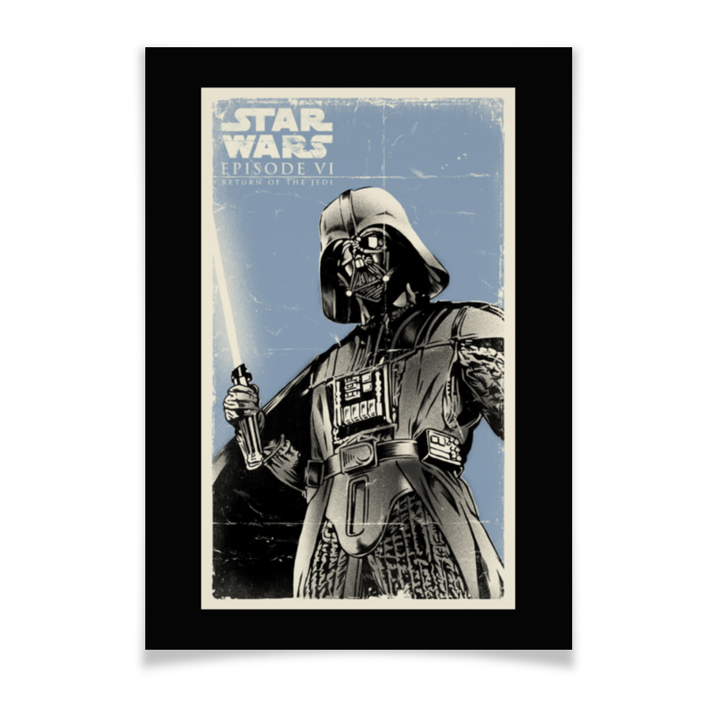Плакат A2(42x59) Printio Звёздные войны плакат a2 42x59 printio противостояние