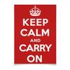 """Плакат A2(42x59) """"«Keep calm...» (remake) """" - ретро, англия, мемы, keep calm, афоризмы"""