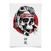 """Плакат A2(42x59) """"Камикадзе"""" - япония, иероглифы, камикадзе, божественный ветер"""