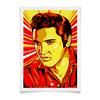 "Плакат A2(42x59) ""Элвис Пресли"" - поп арт, рисунок, элвис пресли"