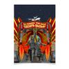 """Плакат A2(42x59) """"Советский союз"""" - ссср, космос, россия, рабочий и колхозница, мы рождены чтоб сказку сделать былью"""