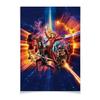 """Плакат A2(42x59) """"Стражи Галактики"""" - комиксы, марвел, грут, guardians of the galaxy, звездный лорд"""