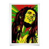 "Плакат A2(42x59) ""Боб Марлей"" - поп арт, рисунок, боб марлей"
