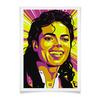 "Плакат A2(42x59) ""Майкл Джексон"" - поп арт, рисунок, майкл джексон"