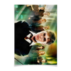 "Плакат A2(42x59) ""Гарри Поттер"" - корона, гарри поттер, волшебство, гермиона, хогвардс"