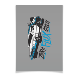 "Плакат A2(42x59) ""Back to the Future / Назад в Будущее"" - назад в будущее, back to the future, фильм, иллюстрация, фан-арт"