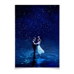 """Плакат A2(42x59) """"Ла Ла Ленд"""" - мечта, оскар, райан гослинг, la la land, эмма стоун"""