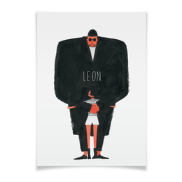 "Плакат A2(42x59) ""Леон / Leon"" - leon, леон, жан рено, натали портман, люк бессон"