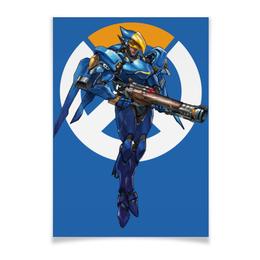 "Плакат A2(42x59) ""Pharah Overwatch / Фарра Овервотч"" - игры, overwatch, овервотч, pharah, фарра"