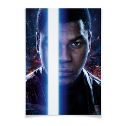 """Плакат A2(42x59) """"Звездные войны - Финн"""" - звездные войны, кино, фантастика, дарт вейдер, star wars"""