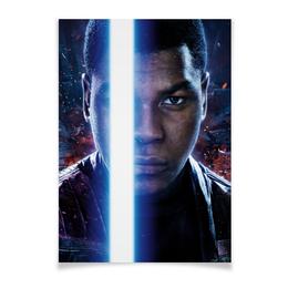 "Плакат A2(42x59) ""Звездные войны - Финн"" - кино, фантастика, star wars, звездные войны, дарт вейдер"