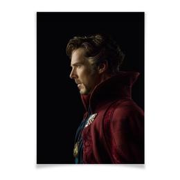 "Плакат A2(42x59) ""Доктор Стрэндж"" - marvel, мстители, марвел, доктор стрэндж, doctor strange"