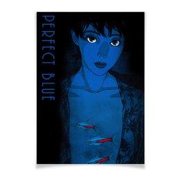 """Плакат A2(42x59) """"Идеальная грусть / Perfect Blue"""" - аниме, рыбы, идеальная грусть, perfect blue, сатоси кон"""