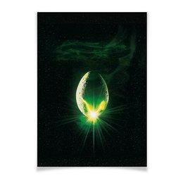 """Плакат A2(42x59) """"Чужой / Alien"""" - alien, чужой, инопланетяне, пришельцы, ридли скотт"""
