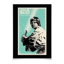 "Плакат A2(42x59) ""Звёздные войны"" - кино, фантастика, приключения, звёздные войны"