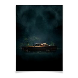 "Плакат A2(42x59) ""Оно / It Follows"" - секс, ужас, ужасы, оно, it follows"
