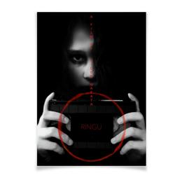 """Плакат A2(42x59) """"Звонок / The Ring"""" - япония, ужасы, звонок, the ring, хидэо наката"""