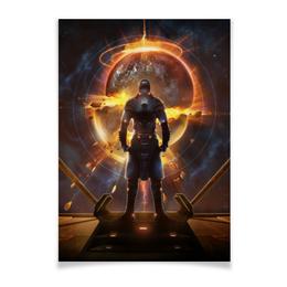 "Плакат A2(42x59) ""Starpoint Gemini Warlords"" - игра, планета, космос, взрыв, компьютерная игра"