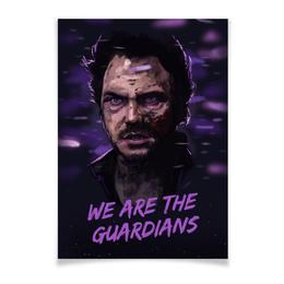 """Плакат A2(42x59) """"Star lord"""" - марвел, комиксы, стражи галактики, звездный лорд, guardians of the galaxy"""