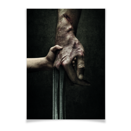 "Плакат A2(42x59) ""Логан"" - комиксы, росомаха, люди икс, marvel, марвел"