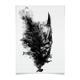 """Плакат A2(42x59) """"Бэтмен"""" - комиксы, batman, бэтмен, dc, dc comcis"""